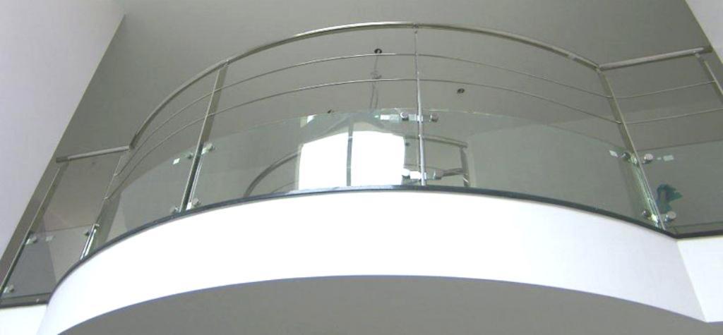 Barandillas de cristal templado en barcelona barandillas - Barandillas de cristal ...