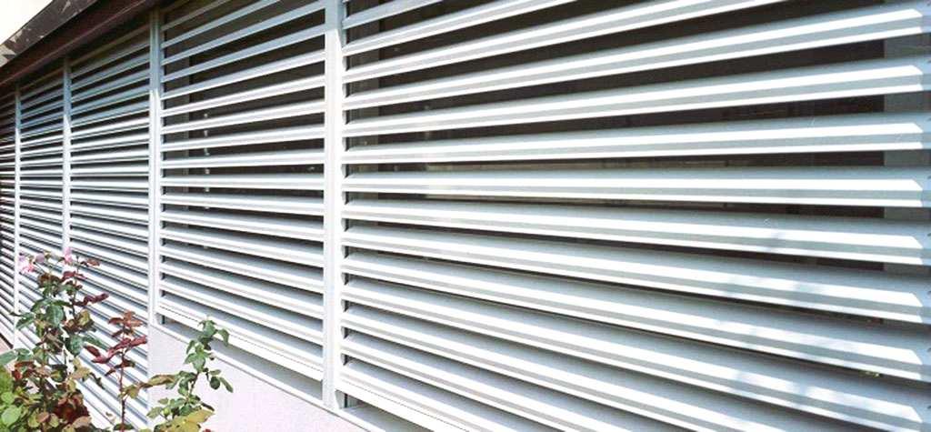 Cristaleria Barcelona Persianas orientables de aluminio en Barcelona