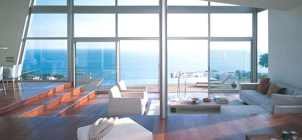 Cristal para ventanas en barcelona ventanas technal en for Puertas ventanas de aluminio medidas