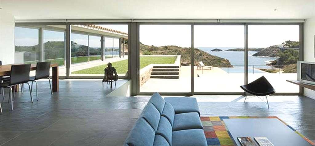 Cristal para ventanas en barcelona ventanas technal en for Ventanales elevables